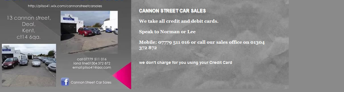 Cannon Street Car Sales