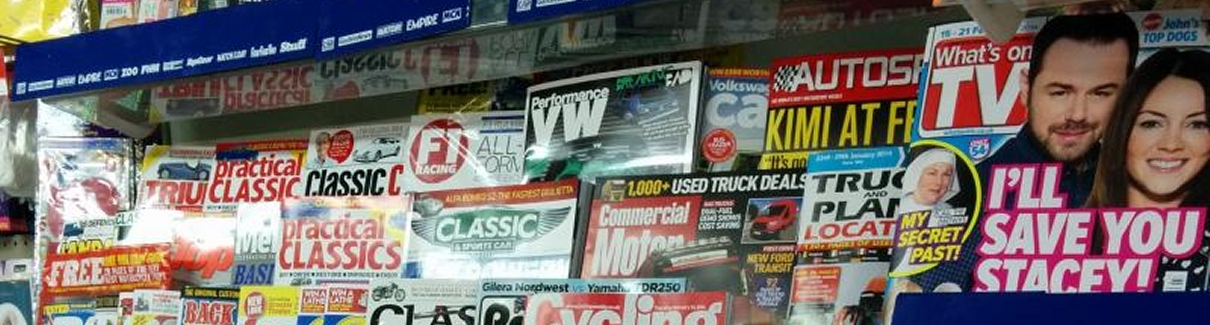 woods newsagents
